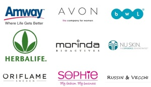Just a few of the many direct selling companies out there